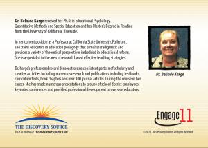 Engage 11 Dr. Belinda Karge