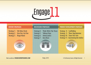Engage 11 Strategies