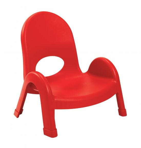 Value Stack 5″ Child Chair (4 Pack) – Apple Red