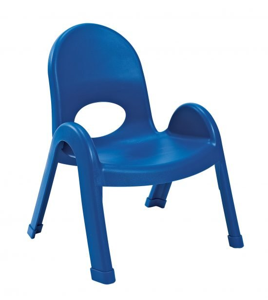 Value Stack 9″ Child Chair – Royal Blue