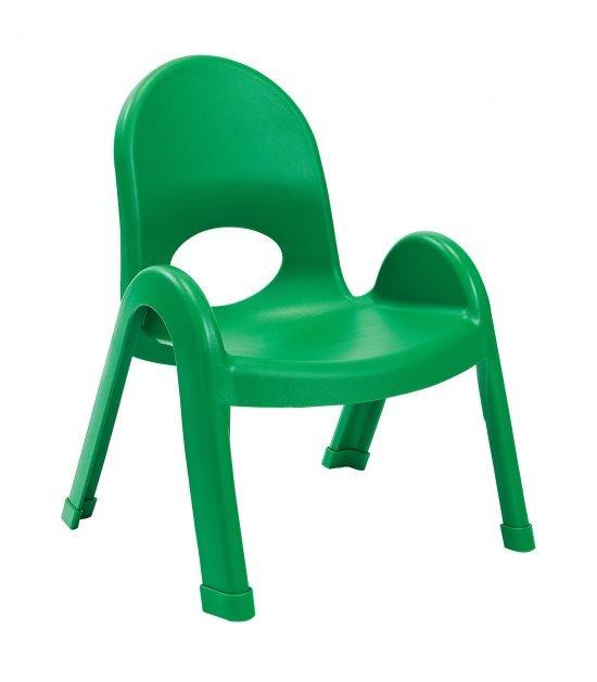 Value Stack 9″ Child Chair – Shamrock Green