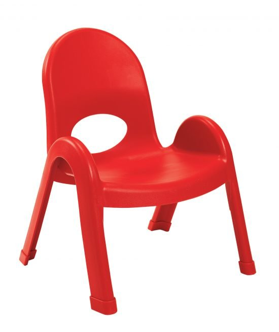 Value Stack 9″ Child Chair – Candy Apple Red