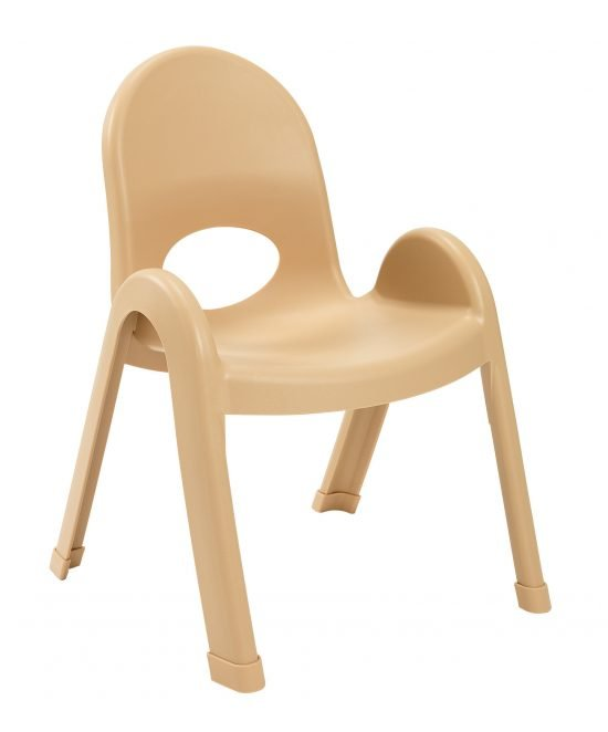 Value Stack 11″ Child chair – Natural Tan
