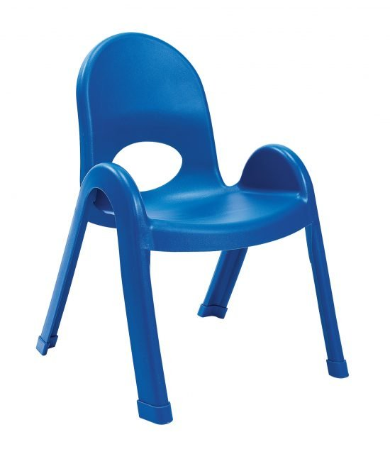 Value Stack 11″ Child chair (4 Pack) – Royal Blue