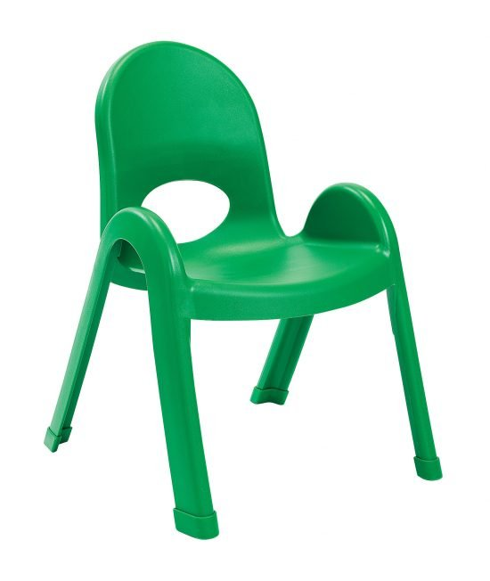 Value Stack 11″ Child chair (4 Pack) – Shamrock Green