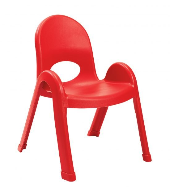 Value Stack 11″ Child chair (4 Pack) – Candy Apple Red
