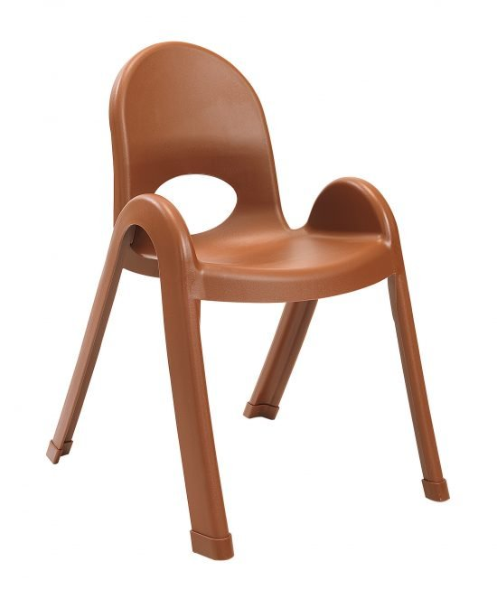 Value Stack 13″ Child chair (4 Pack) – Cocoa
