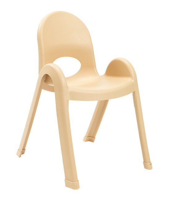 Value Stack 13″ Child chair (4 Pack) – Natural Tan