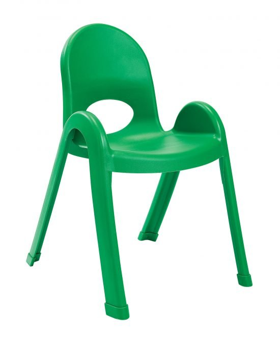 Value Stack 13″ Child chair (4 Pack) – Shamrock Green