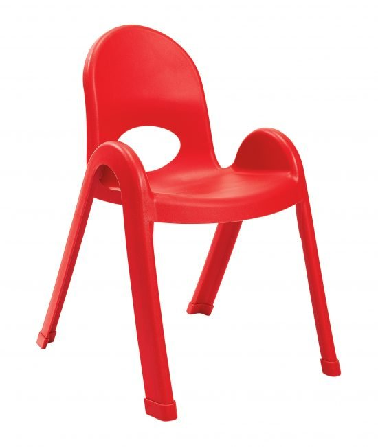 Value Stack 13″ Child chair (4 Pack) – Candy Apple Red