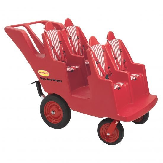 "4 Passenger ""Fat Tire"" Bye-Bye Buggy – Red"