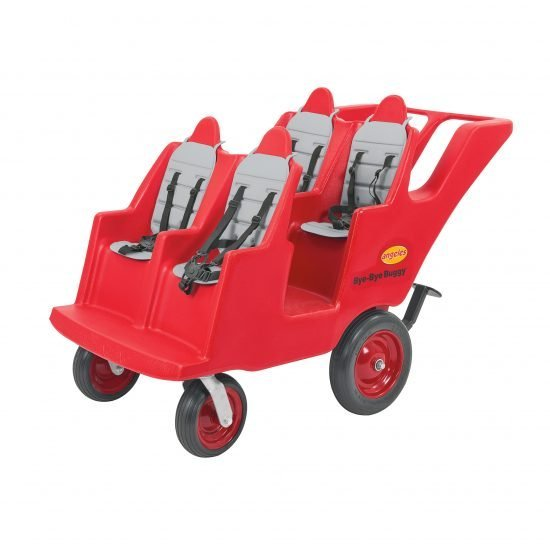 "4 Passenger ""Fat Tire"" Bye-Bye Buggy – Grey"