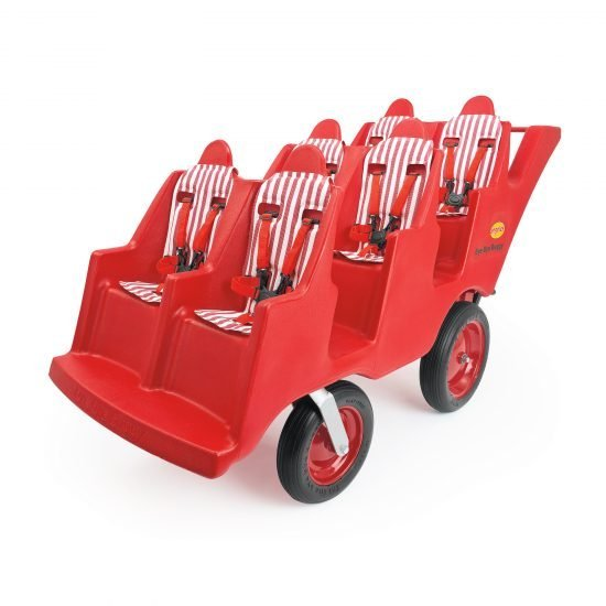 "6 Passenger ""Fat Tire"" Bye-Bye Buggy – Red"