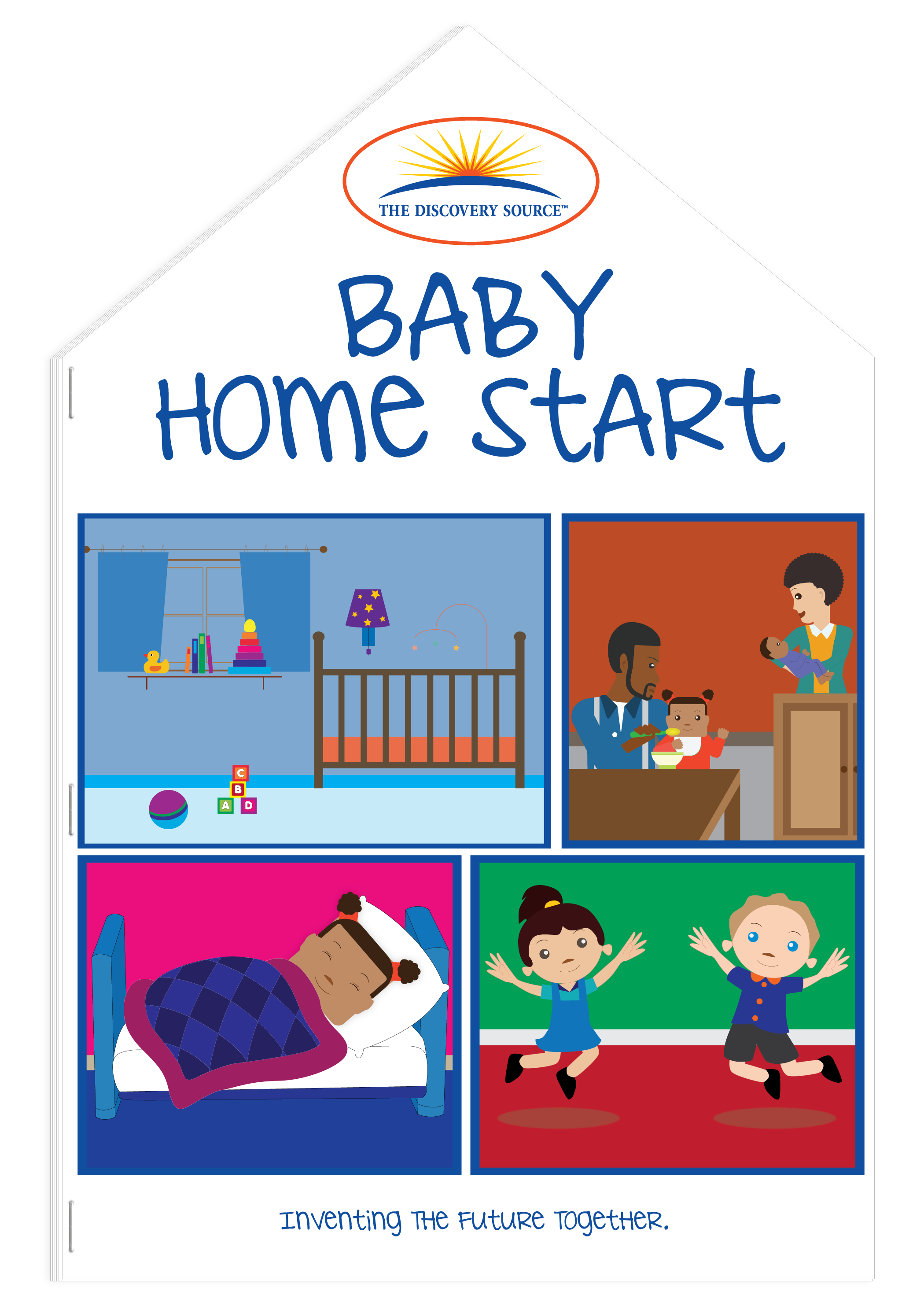 Baby Home Start Book | The Discovery Source