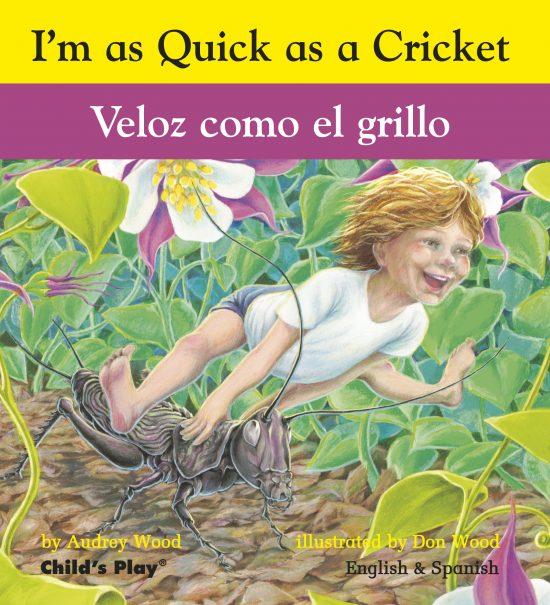 Quick as a Cricket – Bilingual Edition (Board)