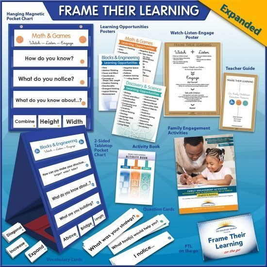 Frame their Learning: Expanded