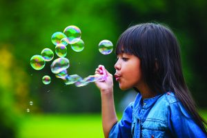 blowing bubbles | The Discovery Source