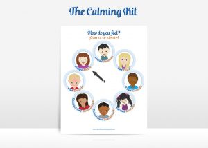 The Calming Kit Feelings Wheel | The Discovery Source