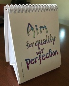 aim for quality constant hine