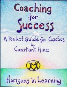 coaching for success pocket guide constant hine