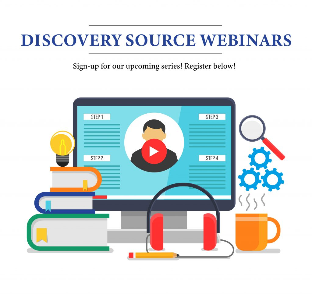 discovery source webinars