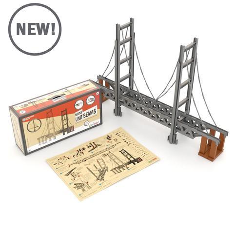 beams bridge builder Unit Bricks | The Discovery Source