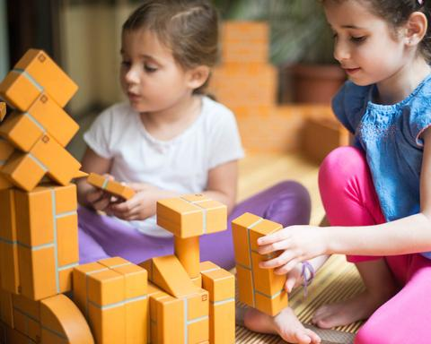 100 Piece Large Unit Bricks Set Unit Bricks | The Discovery Source
