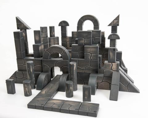 100 Piece Large Unit Rocks Set Unit Bricks | The Discovery Source