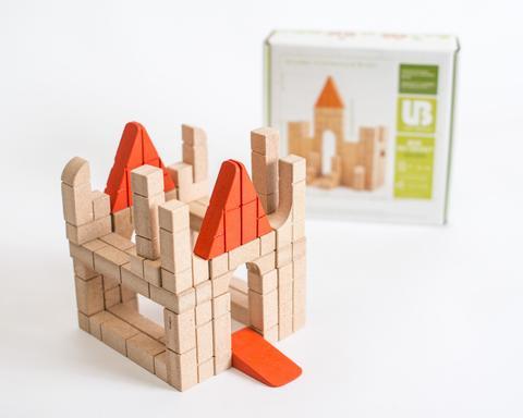 40 Piece Mini Unit Bricks Builder Set | The Discovery Source