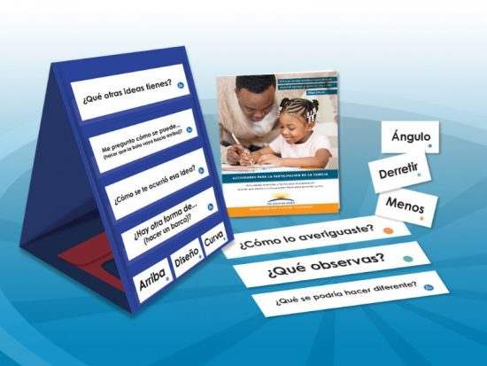 Frame Their Learning Questions Vocabulary And Double Sided Pocket Chart In Spanish The Discovery Source