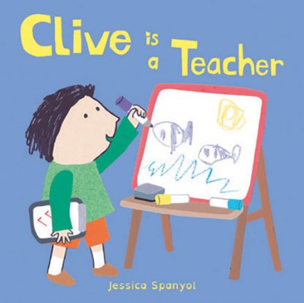 All About Clive: Clive is a Teacher