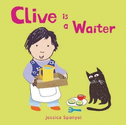 All About Clive: Clive is a Waiter