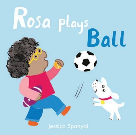 All About Rosa: Rosa Plays Ball