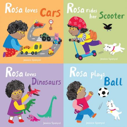 All About Rosa: All Four Books