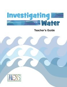 Investigating Water Teacher's Guide: MESS. PDF Cover