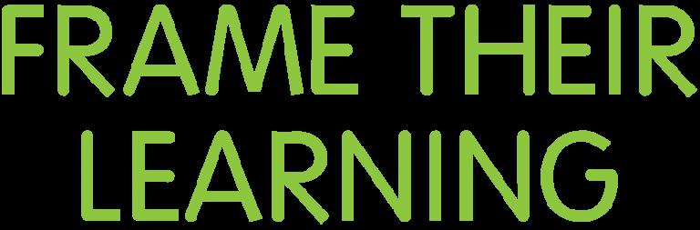Frame their Learning Logo