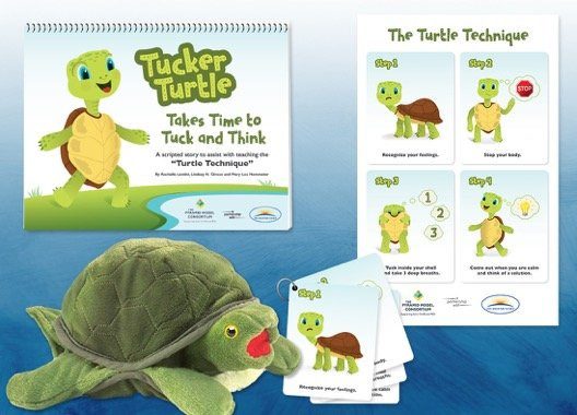 Tucker the Turtle: Takes time to tuck and think